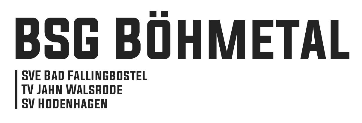 BSG Böhmetal als Bild oben rechts mit Auflistung der Vereine der Spielgemeinscahft